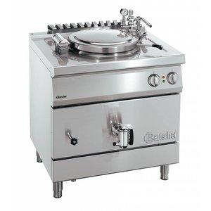 Bartscher Elektrische Kookketel Indirecte Verhitting - 135 liter - 900x900x850-900 mm - 18KW
