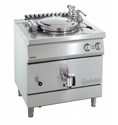 Bartscher Elektrische Kochkessel Indirekte Heizung - 135 Liter - 900x900x850-900 mm - 18KW