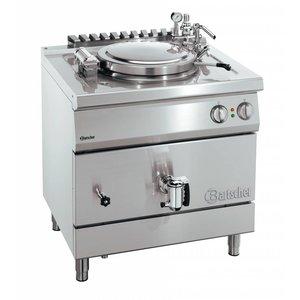 Bartscher Elektrische Kookketel Indirecte Verhitting - 100L - 900x900x(h)850-900mm - 16KW