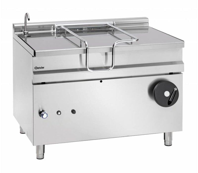Bartscher Gas Tilting Fryer   With Manual Tilt Wheel   30 kw   1200x900x (H) 900mm