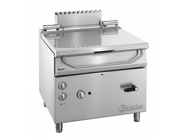 Bartscher Gas Tilting Fryer | Series 900 | 19 kw | 230V | 900x900x (H) 850-900mm