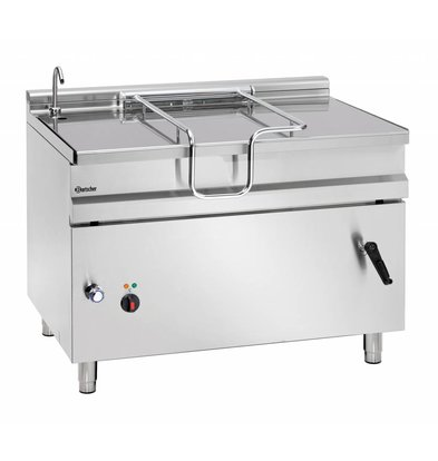 Bartscher Electric Tilting Fryer | With Manual Tilt Wheel | 14.8 kw | 400V | 1200x900x (H) 900mm