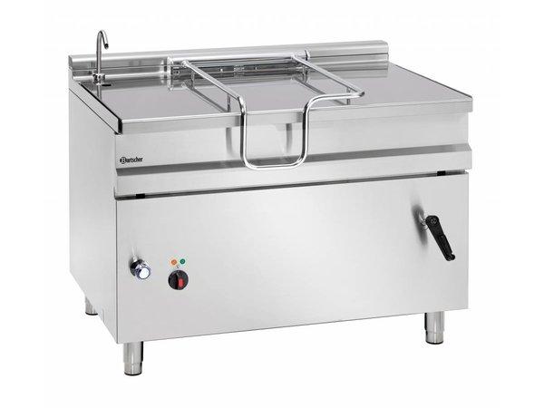 Bartscher Elektrische Kantelbare Braadpan | Met Hand Bediend Kantelwiel |14,8 kw | 400V | 1200x900x(H)900mm