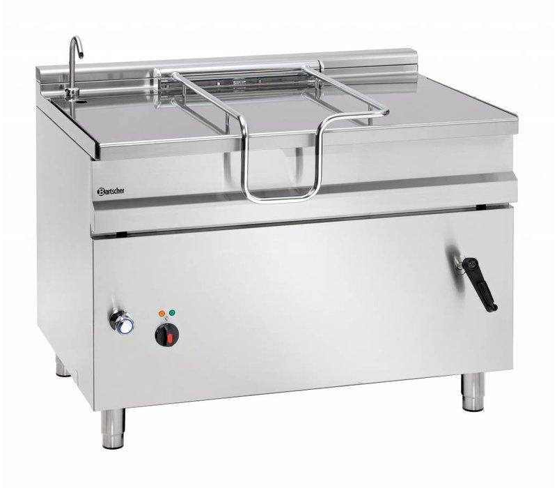 Bartscher Electric Tilting Fryer | With Manual Tilt Wheel | 14.8 kw | 400V | 1200x900x (H) 900mm