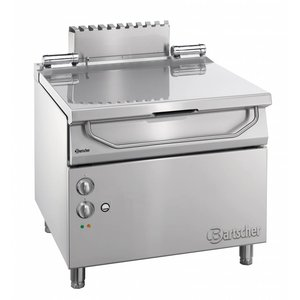 Bartscher Electric Tilting Fryer | Series 900 | 9.25 kw | 400V | 900x900x (H) 850-900 mm