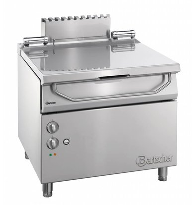 Bartscher Electric Tilting Fryer | Series 900 | 9.25 kw | 400V | 900x900x (H) 850-900 mm