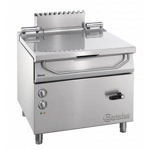 Bartscher Electric Tilting Fryer | Series 900 | 9 kw | 400V | 900x900x (H) 850-900mm