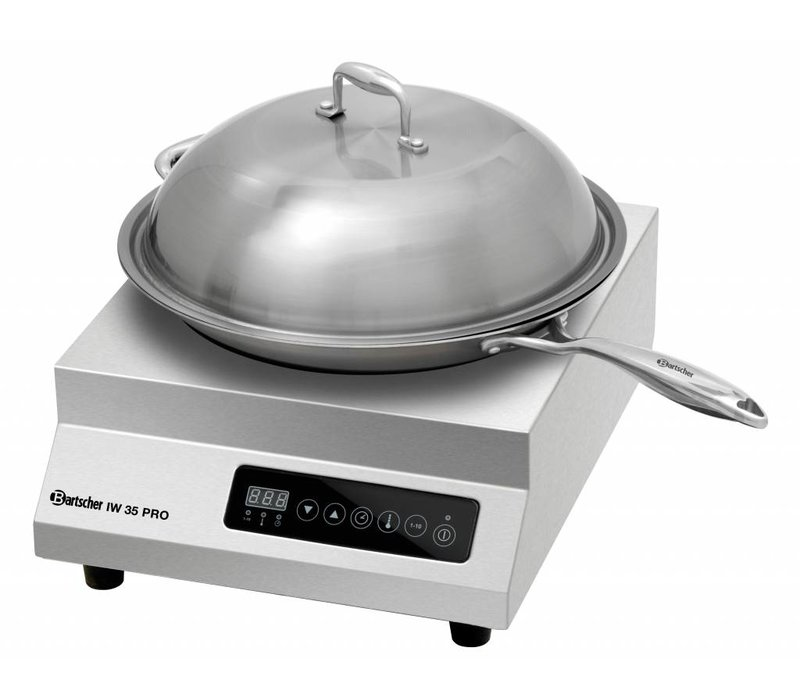 Bartscher Inductie wok-set IW 35 PRO - 35,5x43,9x(h)16,7 - 3500W/230V