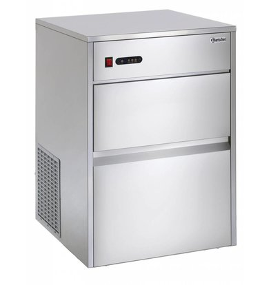 Bartscher Ice cube machine - 25 kg / 24 am - 6 kg stock
