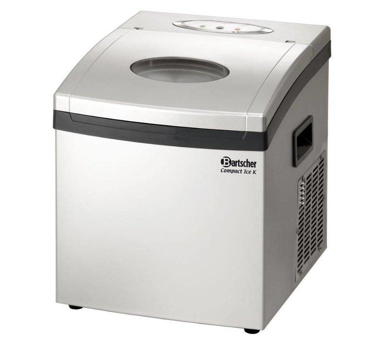 Bartscher IJsblokkenmachine - 2 Instelbare Maten Vierkant- 15 kg/24u
