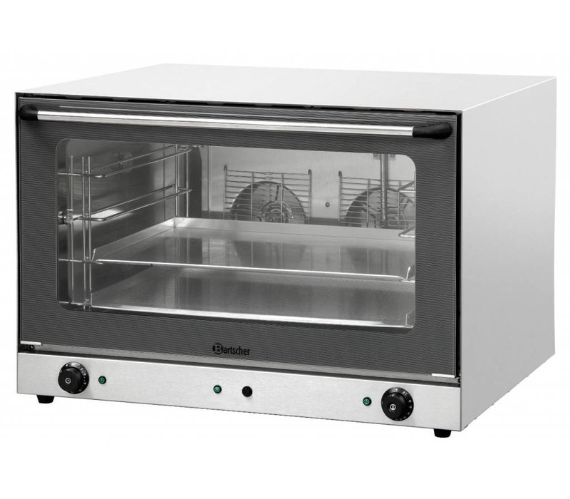 Bartscher Bakery Afbakoven AT400 fluid injection - 835x800x570 (h) mm - 4 x 600x400mm
