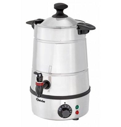 Bartscher Hot water dispenser / Gluwein boiler | faucet | Ø210 mm | 5 liter