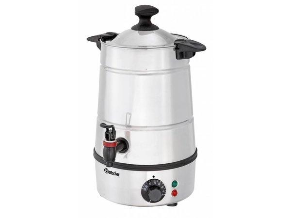 Bartscher Heetwater Dispenser / Gluhwein ketel   Tapkraan   Ø210 mm   5 liter