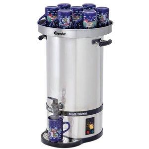 Bartscher Warmwasserboiler / Glühwein Kessel | 20 Liter | inkl. Hot Deckel für 10-15 Tassen