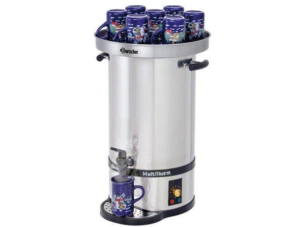 Bartscher Heetwaterketel / Gluhwein ketel | 20 liter | incl. Warmhouddeksel voor 10-15 kopjes