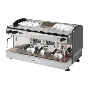 Bartscher Bartscher Coffee Line G3 plus | Equipped with 4 boilers | 400V | 6,3kW | 967x580x (H) 523mm