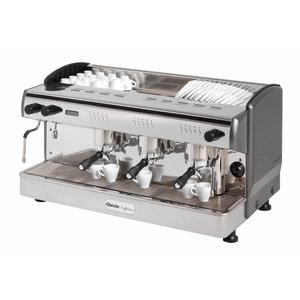 Bartscher Bartscher Coffee Line G3 | 2 Steam Pipes | 1 Hot Water Faucet | 4,3kW | 967x580x (H) 523mm