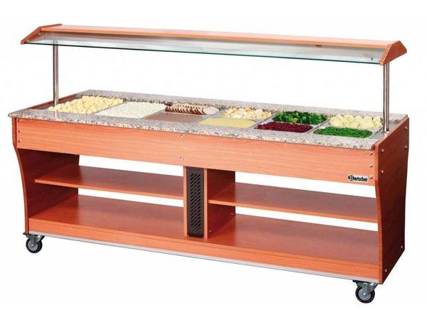 Bartscher Gastro Buffet T - Salad bar 6 x 1/1 GN