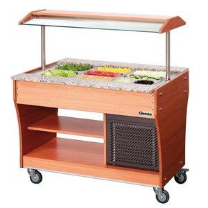 Bartscher Gastro Buffet T - Salad bar 3 x GN 1/1, 150 mm deep