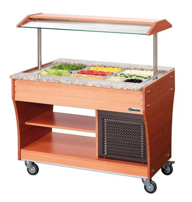 Bartscher Gastro Buffet T - Salad bar 3 x GN 1/1, 150 mm deep