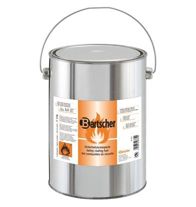 Bartscher 4 Cans for refilling fire pasta - 4 x 3.2 kg