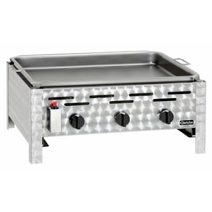 Bartscher Gas combi table BBQ - Griddle