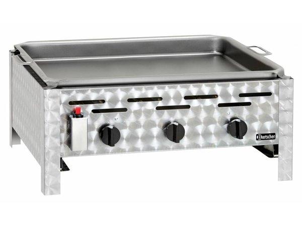 Bartscher Gas combi table BBQ - Griddle