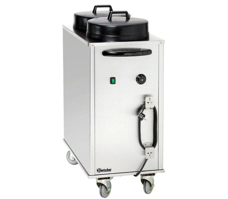 Bartscher Plate warmer signs trailer Electrically Heated - 2 kW - 43x80x (h) 103cm