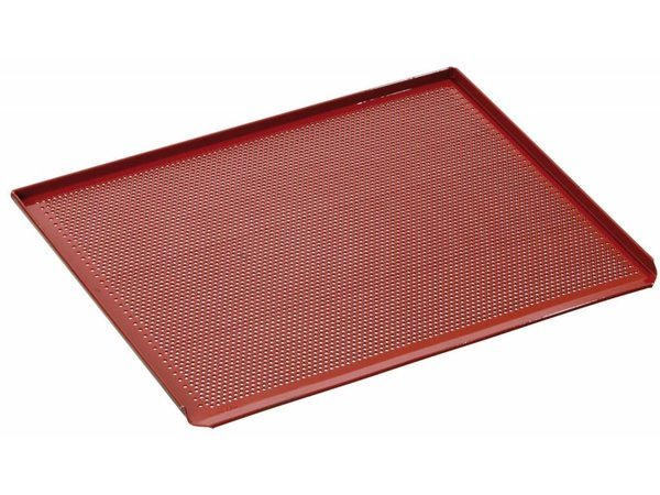 Bartscher Perforated Baking tray | With Silicon Coating | 433x333mm