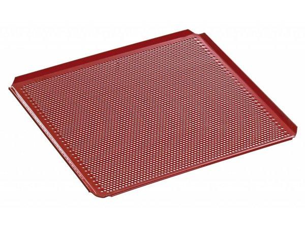 Bartscher Geperforeerd Bakblik   Met Siliconencoating,   2/3 GN   354x325mm