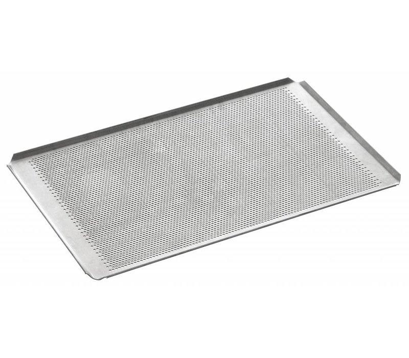 Bartscher Baking tray perforated 1/1 GN | Aluminium | Borehole diameter 3 mm | 530x325mm