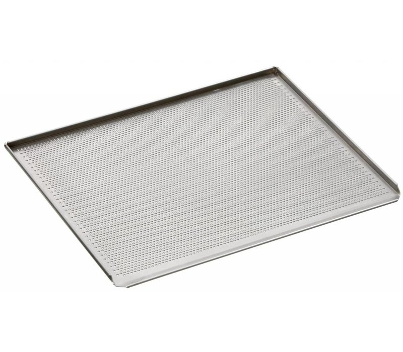 Bartscher Perforated Baking tray | 433x333mm | Borehole diameter 3 mm