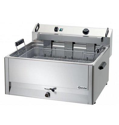 Bartscher Fritteuse | Elektrizität | Bäckerei Fisch und Oliebollen | 30 Liter | 400V | 15kW | 660x650x (H) 410mm