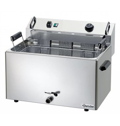 Bartscher fryer | electric | Bakery Fish and Oliebollen | 16 liters | 400V | 9kW | 560x470x (H) 400mm