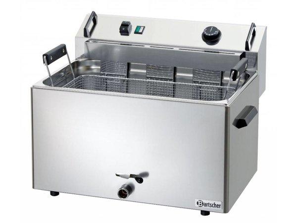 Bartscher Fritteuse | Elektrizität | Bäckerei Fisch und Oliebollen | 16 Liter | 400V | 9 kW | 560x470x (H) 400mm