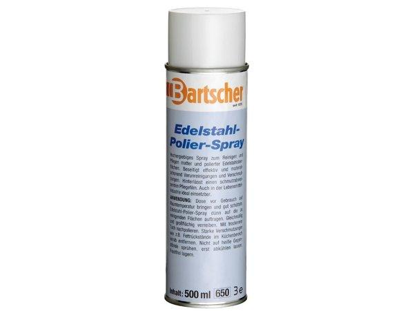Bartscher 12 Cans Edelstahl / CNS Reinigungsspray