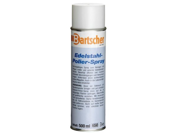 Bartscher 12 Cans Stainless Steel / CNS cleaning spray