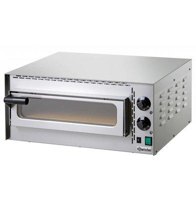 Bartscher Pizza Oven Electric Single | 1 Pizza 35cm | Mini Plus | 570x470x (H) 250mm