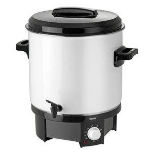 Bartscher Gluhwein ketel / heet water ketel   Temperatuurregelaar   Tapkraan   Ø320 mm   18 liter
