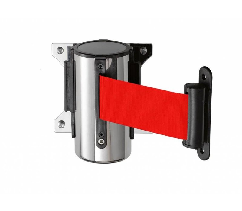 Saro Wall system barrier post Stainless red Basic 3M
