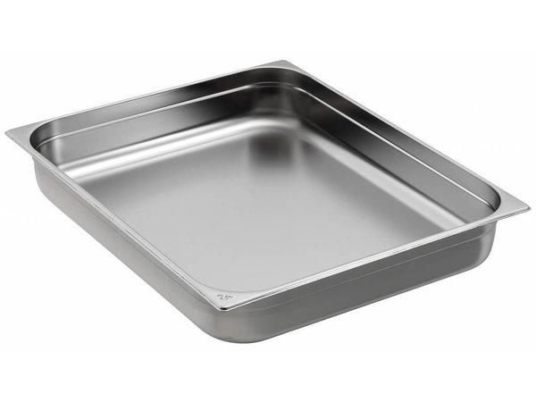 Saro GN-bakken 2/1 - GN, 100 mm, 28,5 liter | 650x530mm