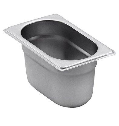 Saro GN-Behälter 1/9 - GN, 65 mm, 0,6 Liter | 108x176mm