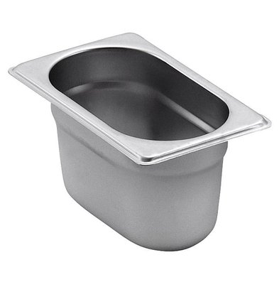 Saro GN-Behälter 1/9 - GN, 100 mm, 1 Liter | 108x176mm