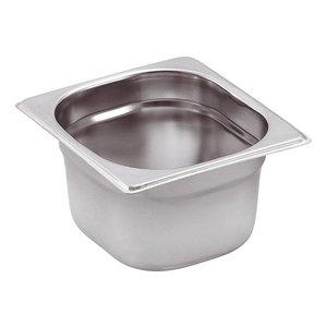 Saro GN-bakken 1/6 - GN, 100 mm, 1,6 liter   176x162mm