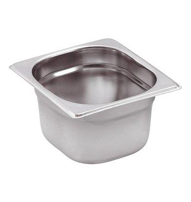 Saro GN-bakken 1/6 - GN, 100 mm, 1,6 liter | 176x162mm