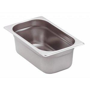 Saro GN-bakken 1/4 - GN, 20 mm, 0,5 liter | 265x162mm