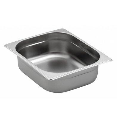 Saro GN-bakken 1/2 - GN, 55 mm, 3,2 liter | 325x265mm