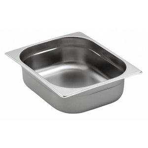 Saro GN-bakken 1/2 - GN, 20 mm,1,25 liter | 325x265mm