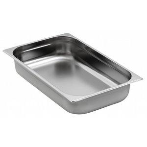 Saro Bake 1/1 GN - GN, 20 mm, 2,5 liter | 325x530mm