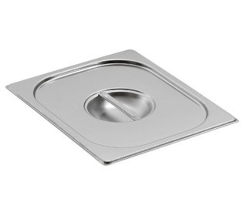 Saro Gastronorm lid without hole for ladle GN 2/4
